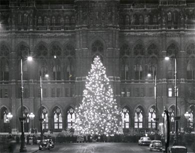Erster weihnachtsbaum in osterreich