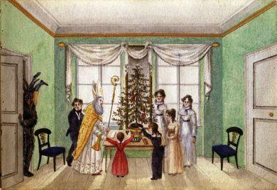 Geschichte Weihnachtsbaum.Christbaum Wien Geschichte Wiki