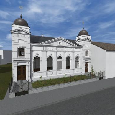 Synagoge Des Israelitischen Bethausvereins Minjan In Liesing Wien